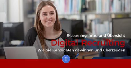 E-Learning- DigiPros - Digital Recruiting - Intro und Übersicht