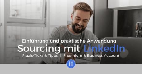 E-Learning mit Zertifikat - DigiPros - Active Sourcing mit LinkedIn - Einführung
