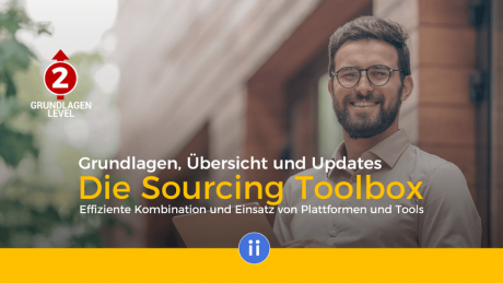 Online-Training - Die Sourcing Toolbox