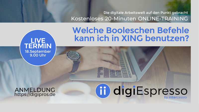 Digipros-Boolesche Befehle in XING
